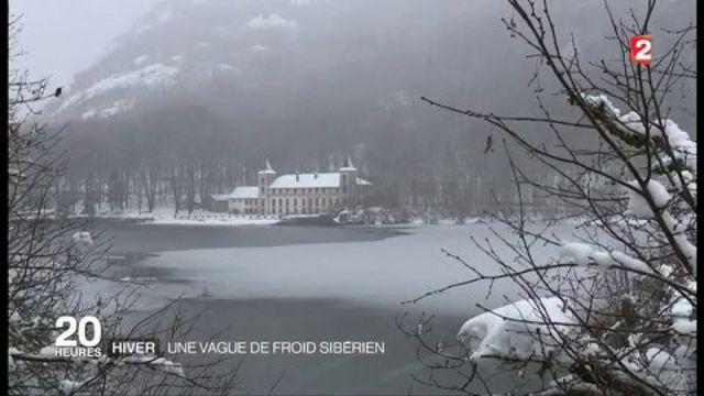 Hiver : une vague de froid sibérien