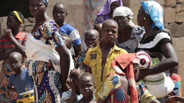 Des réfugiés, qui ont fui des attaques de Boko Haram, à Adamawa (nord-est du Nigeria), le 31 janvier 2015. (Reuters - Afolabi Sotunde)