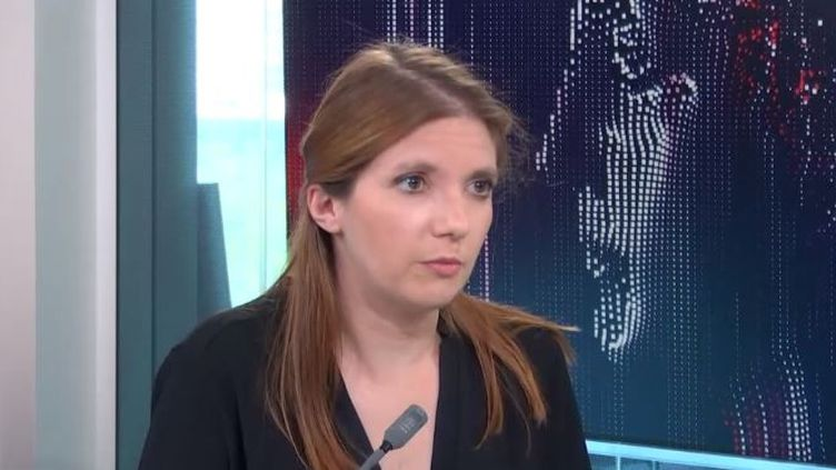 Aurore Bergé, députée La République en marchedes Yvelines,était l'invitée de franceinfo mardi 1er juin 2021. (FRANCEINFO / RADIO FRANCE)