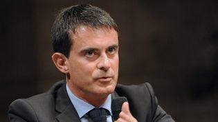 Le Premier ministre Manuel Valls en octobre 2014.  (Guillaume Souvant / AFP)