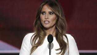 Melania Trump lors de la convention républicaine à Cleveland, dans l'Ohio, le 18 juillet 2016. (MIKE SEGAR / REUTERS)