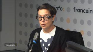 """Nathalie Masduraud co-réalisatrice de """"H24, 24h dans la vie d'une femme"""" sur Arte.  (CAPTURE ECRAN / FRANCEINFO)"""