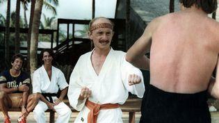 """Jean-Claude Dusse (joué par Michel Blanc) dans """"Les bronzés"""", sortis au cinéma en novembre 1978. (TRINACRA FILMS / AFP)"""