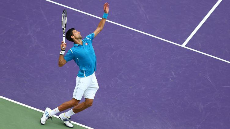 Novak Djokovic. (CLIVE BRUNSKILL / GETTY IMAGES NORTH AMERICA)