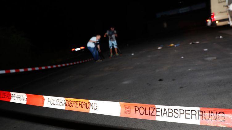 (L'agresseur a été tué près de la gare de Wurtzbourg © REUTERS / Kai Pfaffenbach)