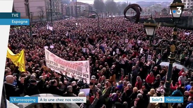 L'Eurozapping : , manifestations en Espagne et en Grande-Bretagne, des ordinateurs volés en Islande