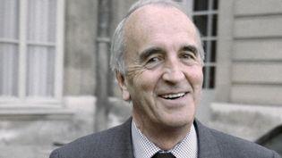 André Rousselet, fondateur de Canal+, en 1989  (michel clement / AFP)