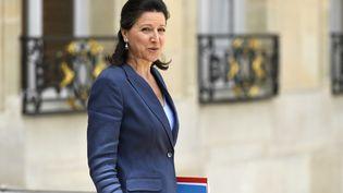 La ministre de la Santé, Agnès Buzyn, le 7 juin 2017 à la sortie de l'Elysée, à Paris. (BERTRAND GUAY / AFP)