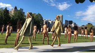 Défilé Kanye West, Fashion Week New York, 7 sept 2016  (Leanne Italie/AP/SIPA)