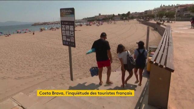 Coronavirus : l'inquiétude des touristes présents sur la Costa Brava