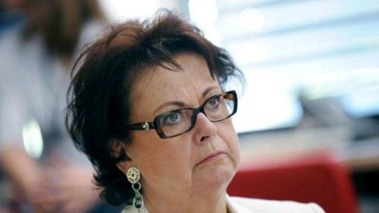 La présidente du Parti chrétien-démocrate Christine Boutin, le 30 juin 2011 (PHILIPPE MERLE/AFP)