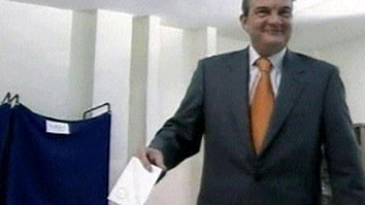 Le Premier ministre grec Costas Caramanlis (© France 3)