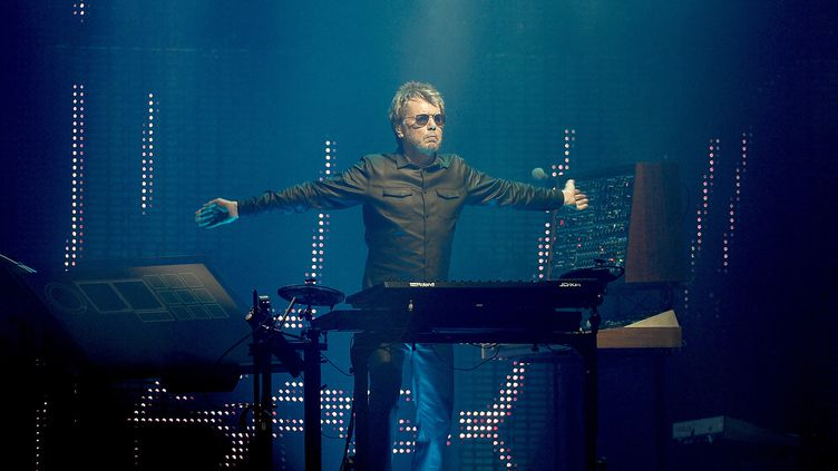 Jean-Michel Jarre, spectacle Electronica 2, juin 2016  (Joan Cros / NurPhoto / AFP)