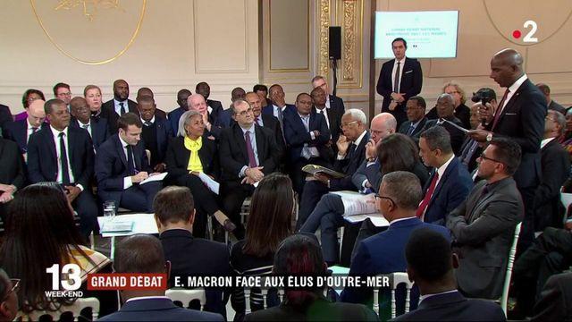 Grand débat : Emmanuel Macron face aux élus d'Outre-mer