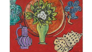 "Henri Matisse, ""Nature morte au magnolia"", Nice, Hôtel Régina, août-octobre 1941. (SUCCESSION H. MATISSE)"