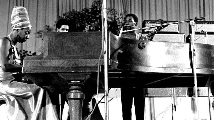 Nina Simone, l'une des grandes voix du XXe siècle.  (Alphapress/MaxPPP)