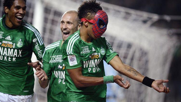 Spiderbam tisse sa toile avec les Verts (JEFF PACHOUD / AFP)