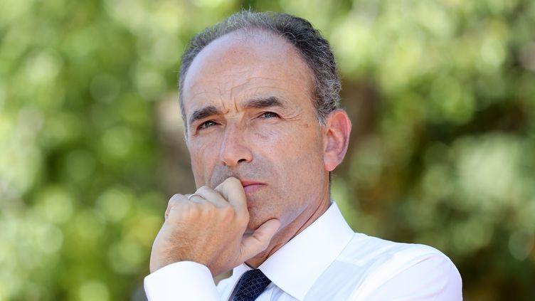 Jean-François Copé, le maire de Meaux et ancien ministre du Budget, soutient le prélèvement à la source. (VALERY HACHE / AFP)