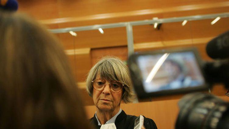 (Maitre Joelle Vernay, avocat de la defense, à l'ouverture du procès lundi © MaxPPP)