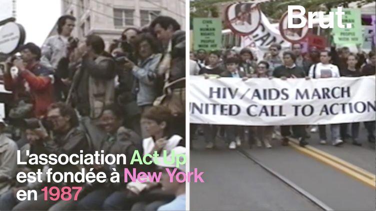 VIDEO. On vous raconte l'histoire de l'association d'Act Up (BRUT)