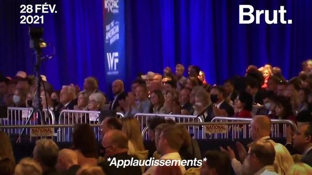 Le premier discours de Donald Trump depuis sa défaite face à Joe Biden, ça ressemblait à ça…