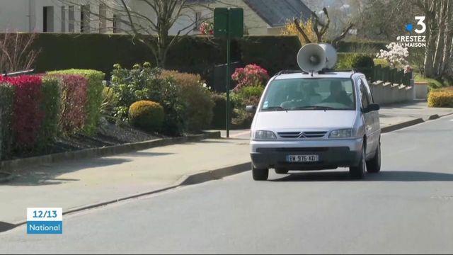 Coronavirus : dans la Manche, un véhicule sonorisé rappelle les consignes