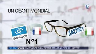 Essilor fusionne avec Luxottica (FRANCE 3)