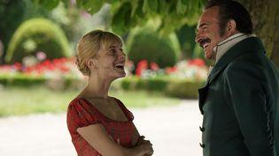 """Mélanie Laurent et Jean Dujardin dans """"Le Retour du Héros"""" de Laurent Tirard  (Christophe Brachet - JD Prod - Les Films sur Mesure)"""