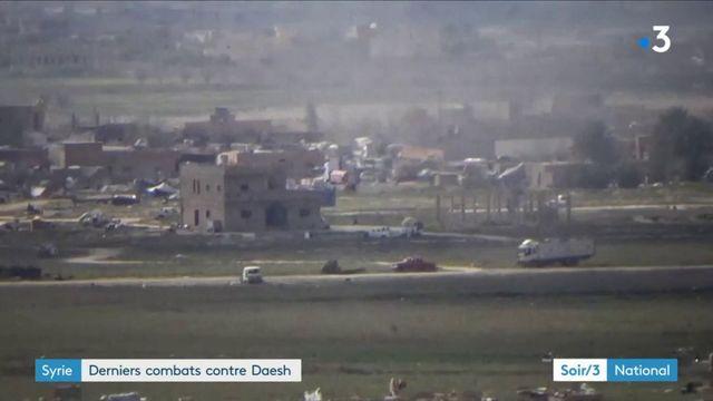 Syrie : au coeur des derniers combats contre Daesh