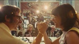 """Cinéma : """"Battle of the Sexes"""" ou le combat féministe sur un court de tennis (FRANCE 2)"""