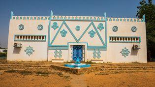 Bâtiment principal duMusée national du Niger (MICHAEL RUNKEL / ROBERT HARDING HERITAGE  VIA AFP)
