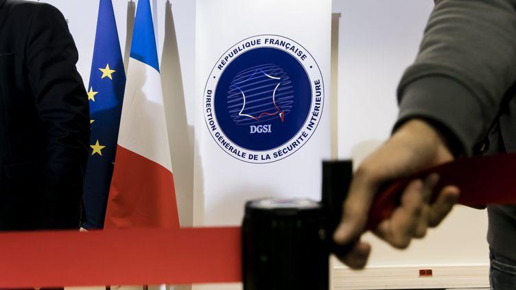 Image d'illustration. Logo de la DGSI. (VINCENT ISORE / MAXPPP)