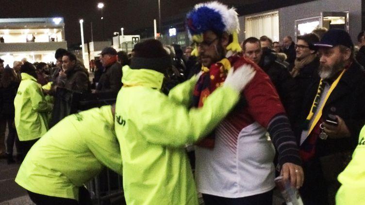 Cerains supporters de l'équipe de France sont venus en tenue de gala