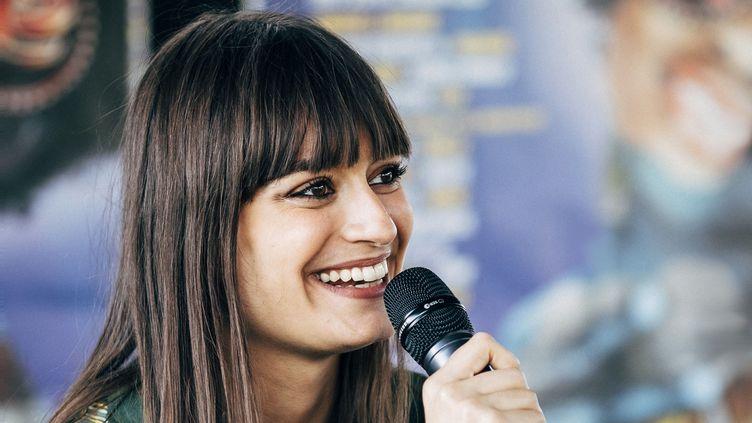 La chanteuse Clara Luciani en juin 2018.  (Denis Meyer / Hans Lucas / AFP)