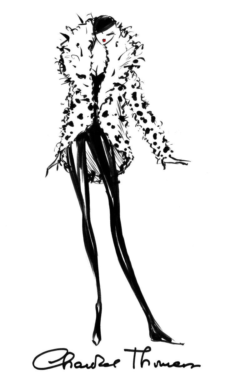 Le Manteau de Cruella par Chantal Thomass  (DR)