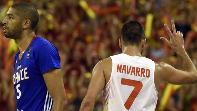 L'Espagne de Navarro a pris sa revanche sur les Bleus de Batum (JAVIER SORIANO / AFP)