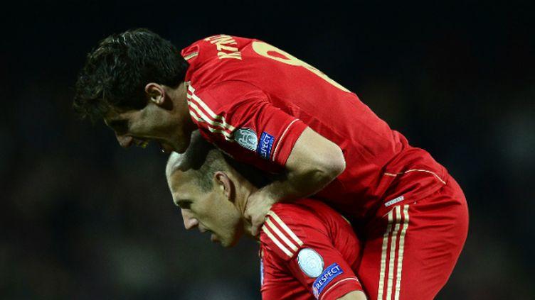 Arjen Robben et Javier Martinez (Bayern Munich)