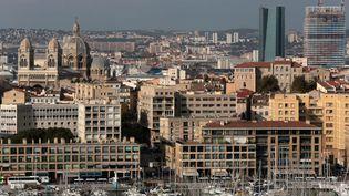 Vue du Vieux-Port à Marseille (Bouches-du-Rhône), le 22 novembre 2017. (MAXPPP)