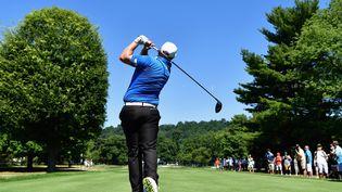 L'anglais Andrew Johnston lors d'une compétition de golf dans le New Jersey, aux Etats-Unis, le 26 juillet 2016. (STUART FRANKLIN / GETTY IMAGES)