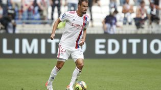 Damien Da Silva et les Lyonnais affronteront les Glasgow Rangers,leSparta Prague et Brondby en phase de poules de la Ligue Europa. (ROMAIN BIARD / ISPORTS)