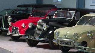 L'ancien chef d'entreprise André Trigano a commencé sa collection de voitures il y a plus de 60 ans. Il a décidé de mettre 170 de ses bijoux aux enchères. (France 3)