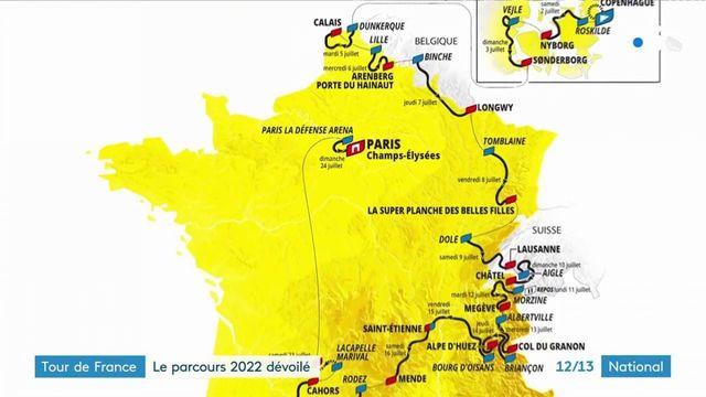 official presentation of the 2022 Tour de France route