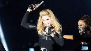 Madonna poursuit son MDNA Tour à Paris le 14 juillet  (W.Schneider/SIPA)