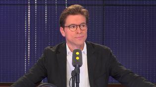 Geoffroy Didier, avocat et député européen LR. (CAPTURE ECRAN / FRANCEINFO)