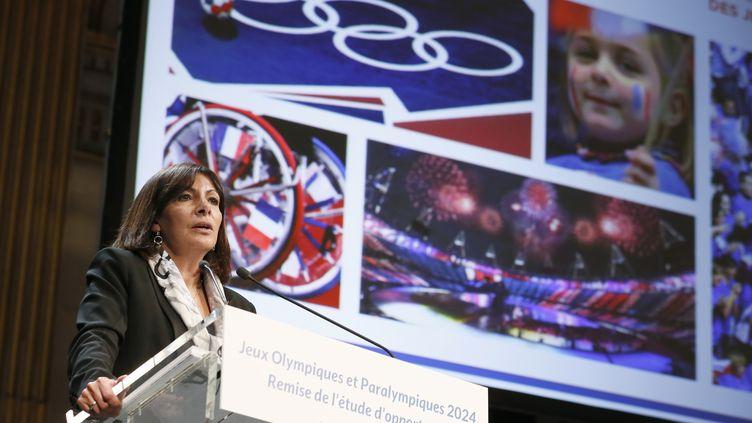Anne Hidalgo, maire de Paris (PATRICK KOVARIK / AFP)