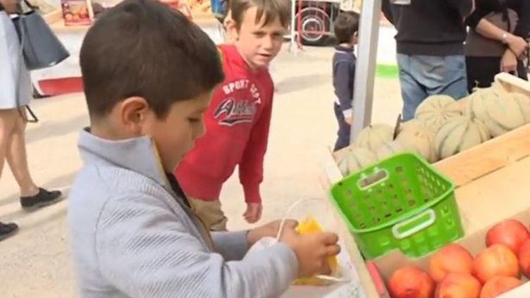 Enfants au marché (France 3)