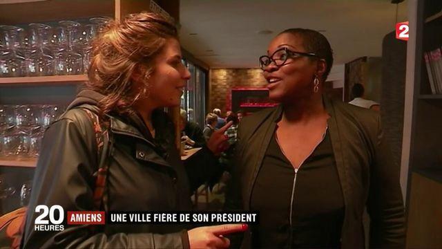Amiens : une ville fière du président élu