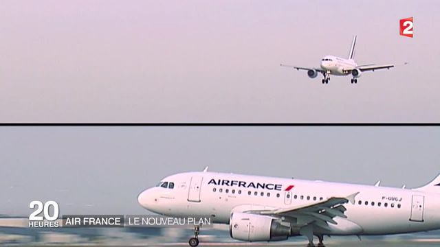 Air France cherche un plan pour éviter les suppressions massives
