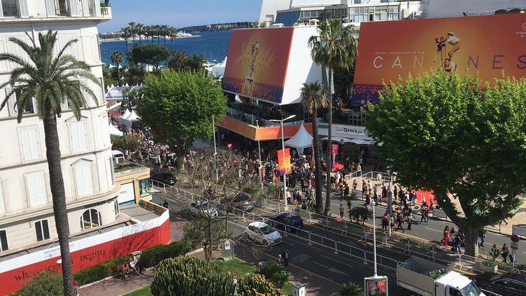 Le Palais des festivals, Cannes, le 14 mai 2019 (Lorenzo Ciavarini Azzi - Franceinfo Culture)