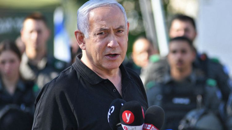 Benjamin Netanyahu, le 13 mai 2021. (YUVAL CHEN / POOL)